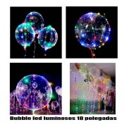 Bubble led 18 polegadas