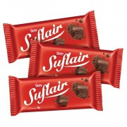 Chocolate Suflair caixa com 3 unidades - Nestle