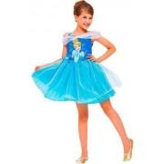 Fantasia Princesa Cinderela Infantil Carnaval Festa Fantasia