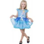 Fantasia Princesa Disney Cinderela Pop Tamanho M 6 A 8 Anos