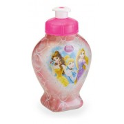 Garrafinha Cantil Sleeve Coração Princesas 420 Ml