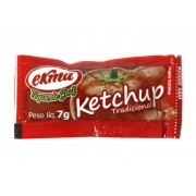 Ketchup Ekma caixa com 168 sachets de 7 g cada Promoção !
