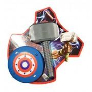 Kit Brinquedo Do Herói Thor Martelo + Escudo