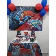 Kit festa completa SUPER HOMEM  301 itens !!!