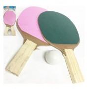 Kit Raquete Ping Pong Infantil C/10 Unidades