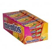 Mentos sabor fruit slim box caixa 12 unidades