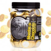 Moeda de chocolate Chocolate bank 600g