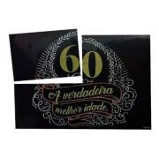 Painel decorativo Aniversário 60 Anos