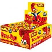 Pica - Pau Chicletes com figurinhas adesivas 100 unidades