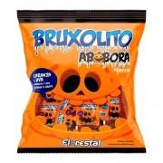 Pirulito Bruxolito Abóbora Pumpkin laranja e uva Com 50 Unidades