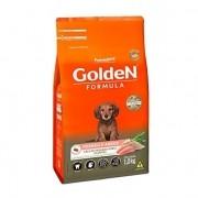 Ração Golden Mini bits Frango e Arroz cães pequeno porte filhotes 1 kg