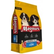 Ração Magnus Premium Cães Filhotes Sabor Carne 1 Kg