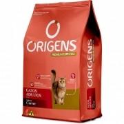 Ração Origens gatos adultos Sabor carne 1 Kg