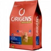 Ração Origens gatos filhotes sabor frango e cereais 1 Kg