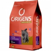 Ração Origens para Gatos castrados Sabor Salmão 3 kg