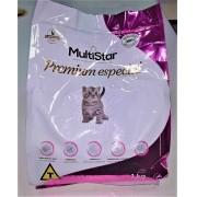Ração para Gatos Filhotes Multi Star Premium Especial 1 kg