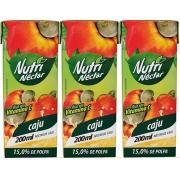 Suco Néctar De Caju Nutri 200 ml Pack 3 Unidades