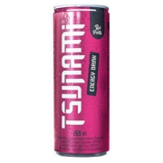 Tsunami Energy Drink Red Fruits  Energético 269 ml