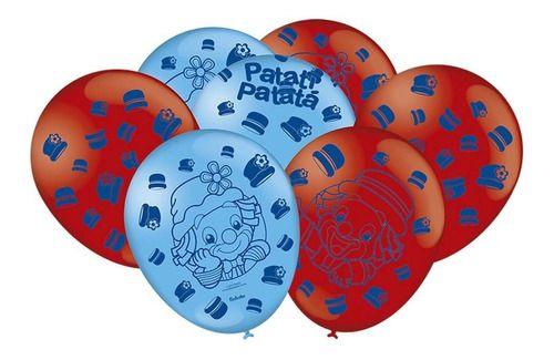 Patati Patatá bexiga com 25 unidades