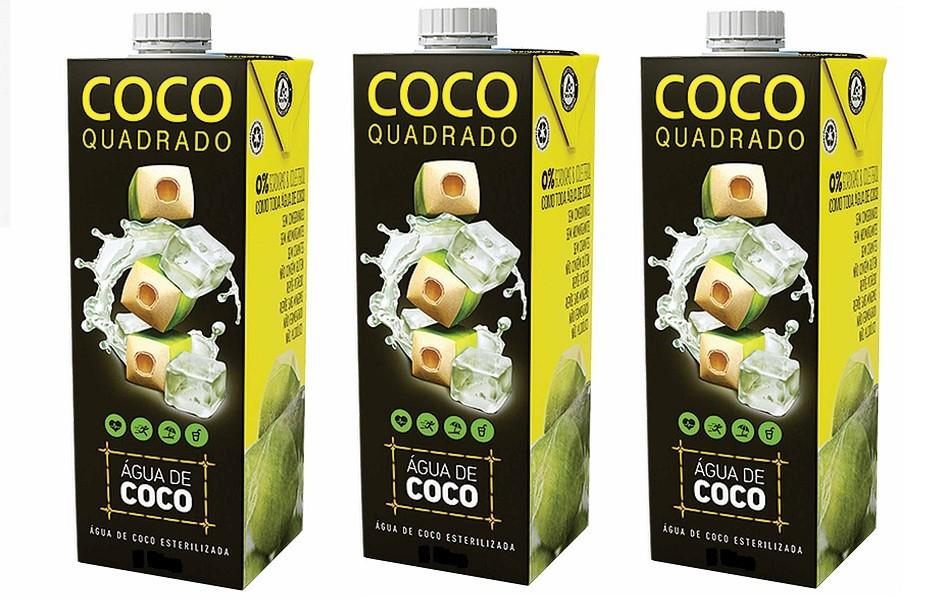 Água de coco 200 ml pack com 3 unidades !