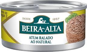 Atum ralada ao natural Beira - Alta 170 g