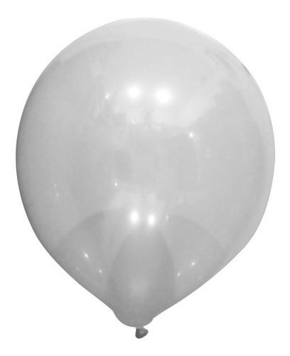 Bexiga Cristal 50 Unidades 11 Polegadas