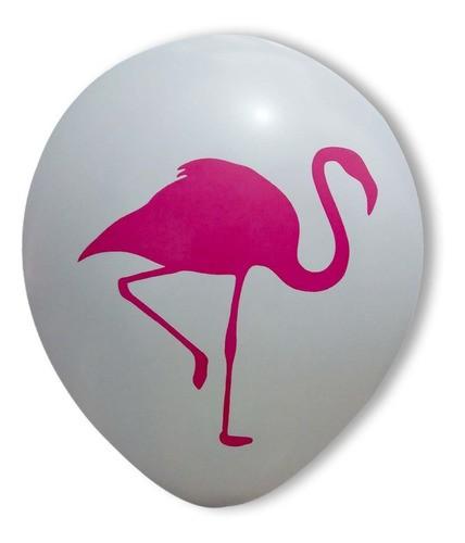 Bexiga Flamingo 11 polegadas ( 25 unidades )