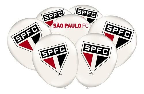 Bexiga São Paulo Pacote Com 25 Unidades