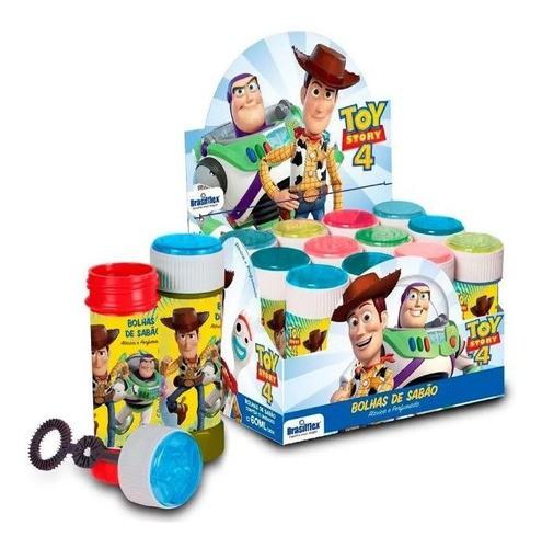 Bolha De Sabão Toy Story 4 Com 12 Unidades