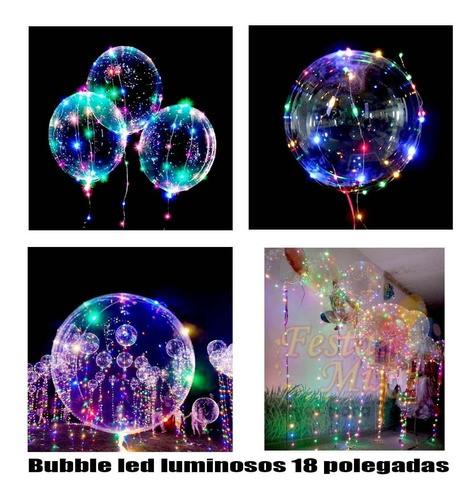 Bubble led 18 polegadas