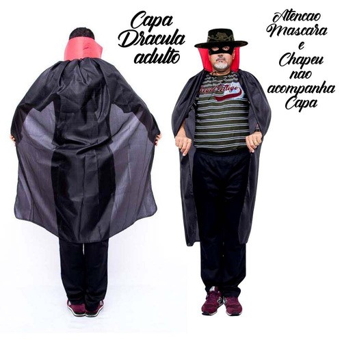 Capa Vampiro Adulto
