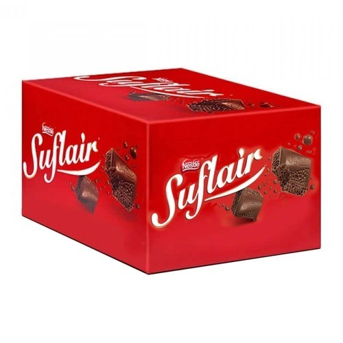Chocolate Suflair caixa com 20 unidades - Nestle