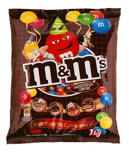 Confeito Chocolates Mem´s 1 Kg