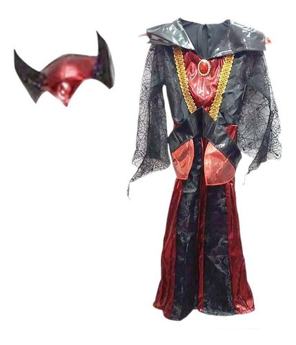 Fantasia Vampiro Evil Queen De Luxo