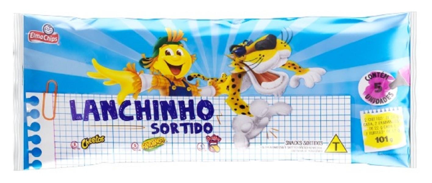 Lanchinho Elma chips pacote com 5 salgadinhos Promoção !!