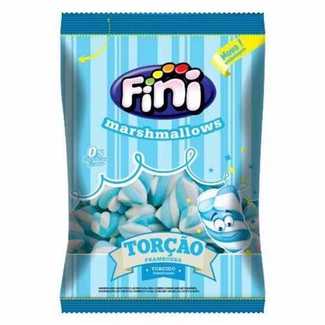 Marshmallow Torção Azul 250g - Fini