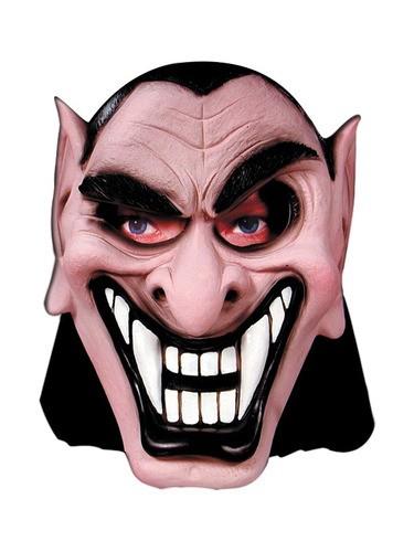 Mascara Vampiro Do Mau Com Capuz