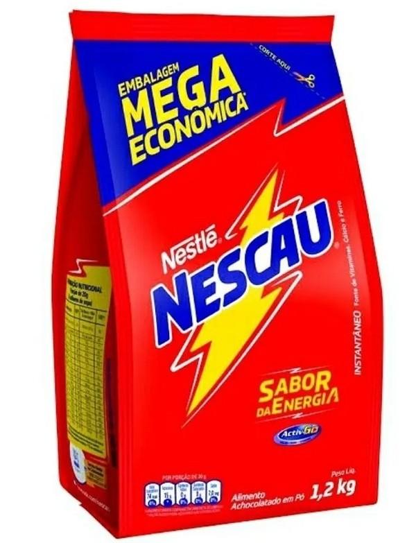 Nescau Nestlé embalagem econômica 1,2 kg