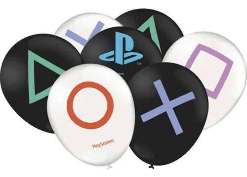 Playstation Bexiga Pacote Com 25 Unidades