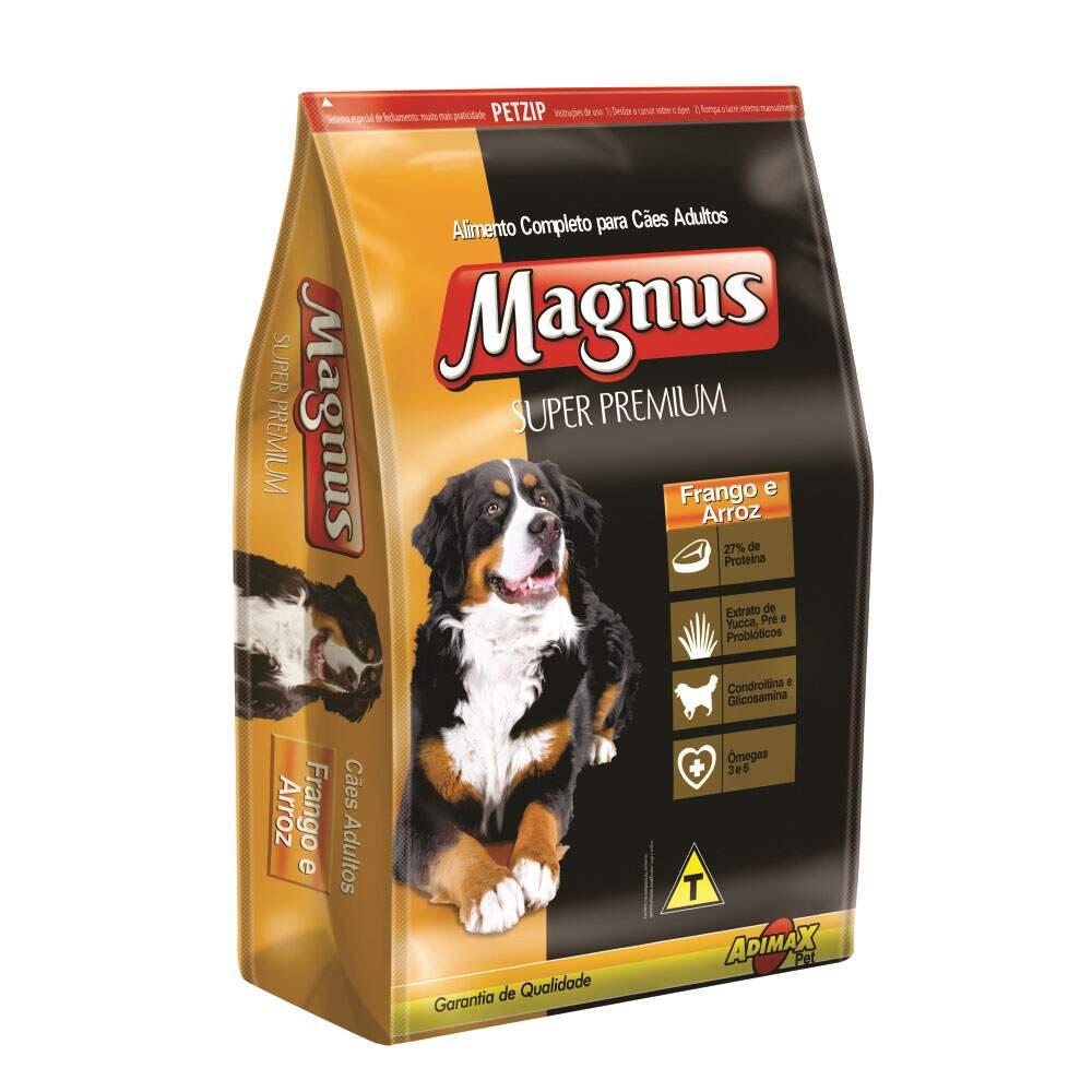 Ração Magnus Super Premium Frango  Cães Adultos 1 Kg