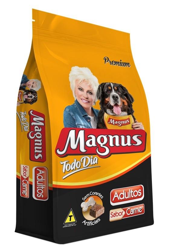 Ração Magnus Todo dia  Cães Adultos Sabor Carne 1 Kg
