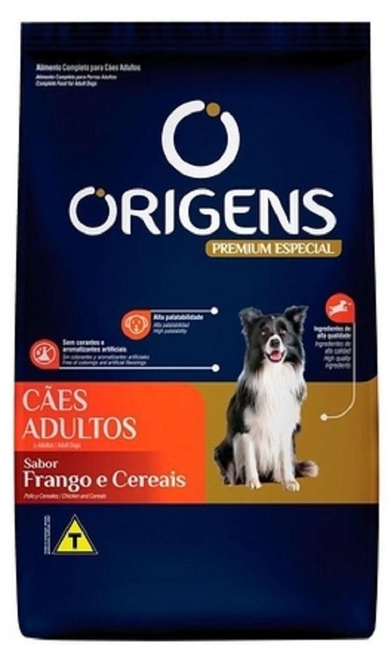 Ração Origens para cães adultos frango e cereais 3 kg