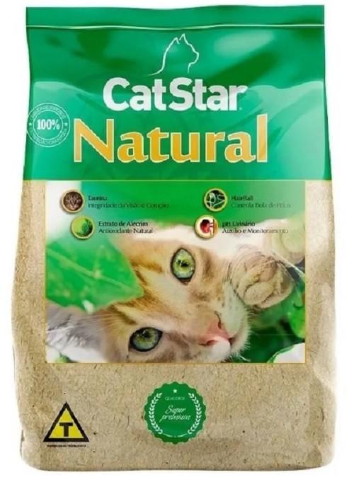 Ração para Gatos Cat Star NATURAL Super Premium 3 kg