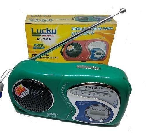 Rádio E Relógio De Bolso Livstar !!