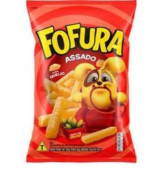 Salgadinho Fofura Sabor Queijo 10 pacotes de 47 g
