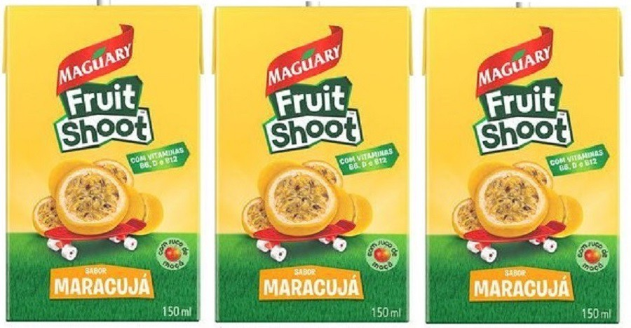 Suco Maguary Fruit Shoot Maracujá 150ml Pack Com 3 Unidades