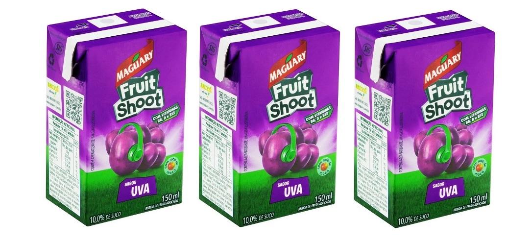 Suco Maguary Fruit Shoot Uva 150ml Pack Com 3 Unidades