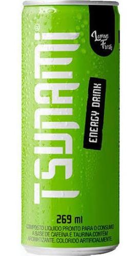 Tsunami Energy Drink Lemon Fresh Energético 269 ml