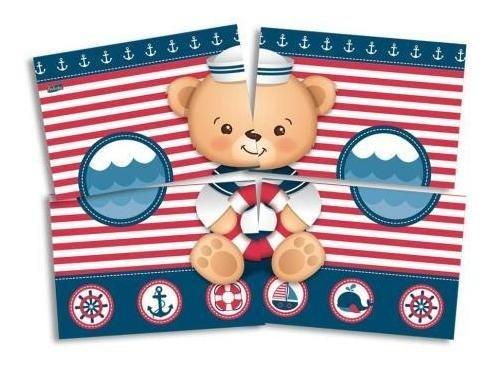 Urso Marinheiro Painel Decorativo