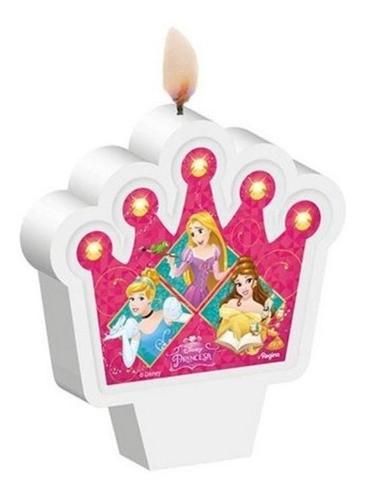 Vela Tema Princesas Pavio Mágico